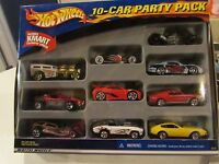 Hot Wheels 2001 -10-Car Party Pack - Includes K-Mart Vehicle Toys