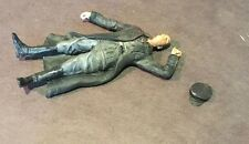 1/24 1/25 or G  75mm Scale Resin Model Kit, WWII Dead German Soldier Hanz