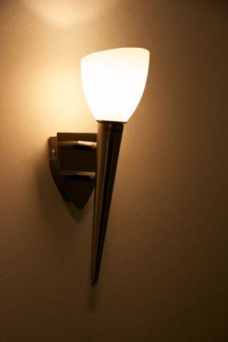 Applique Design moderne Lampe murale Lampe de corridor Couleur argentée 35218