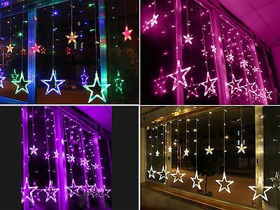 2M Stars LED String Fairy Light Christmas Xmas Party Wedding Decor 220-240V