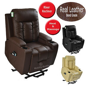 NAPOLI-LEATHER-ELECTRIC-RISER-RECLINER-CHAIR-SINGLE-OR-DUAL-CINEMA-HEAT-MASSAGE