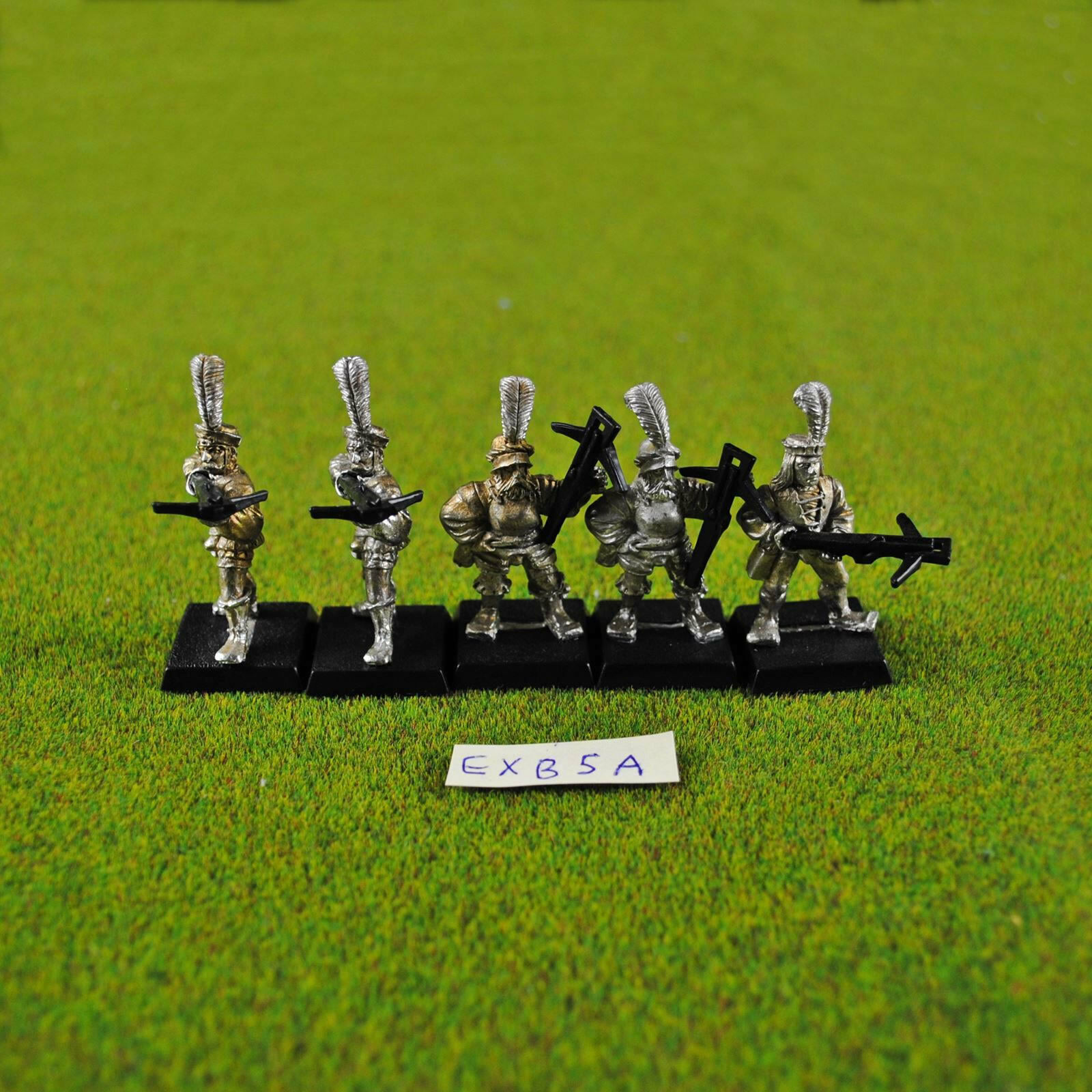 Warhammer Fantasy Empire Crossbowmen (5 Loose) Metal OOP Games Workshop Citadel