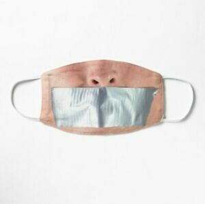 Duck Tape Mouth Face Mask Reusable Face Mask Ebay