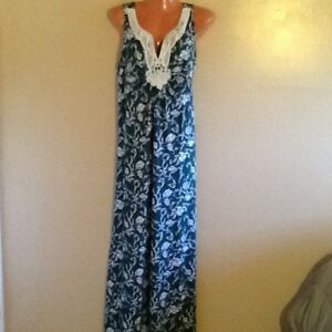 Plus Size Women S Crochet Sleeveless Maxi Dress 1x 2x 3x Ebay