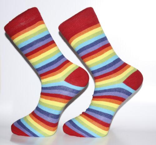 High Quality Rainbow Striped Socks