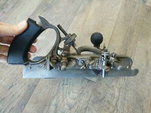 Antique-Stanley-No-45-Combo-Wood-Plane-Woodworking-Hand-Tools-Pat-Jan-22-95