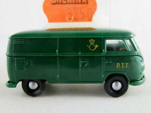 Brekina-3250-VW-Camionnette-t1b-1959-034-P-T-T-poste-Luxembourg-034-1-87-h0-Nouveau-Neuf-dans-sa