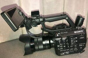 Sony XDCAM - FS5 II PXW-FS5 4K Ultra HD Camcorder includes everything pictured