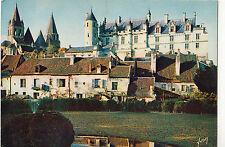 BF15495 chateau de loches i et l la collegiale saint o  france  front/back image