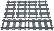 LEGO Dark Bluish Gray RC Straight Train Track Piece