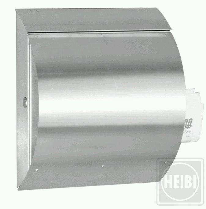 Edelstahl - Briefkasten Heibi Onda Spezial 43732