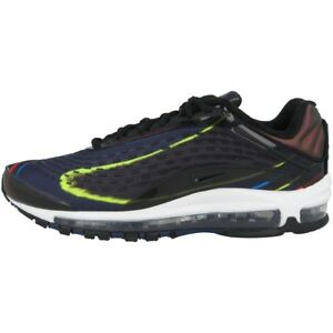 Sneaker Sport Nike Navy Scarpe Max Air 001 Aj7831 Nero Argento Deluxe Leisure xa1IqYIw