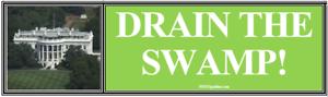 ANTI-Trump-DRAIN-THE-SWAMP-humorous-political-bumper-sticker