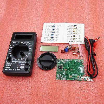 DT830B DIY Digital Analog multimeters Electronic Learning BSG