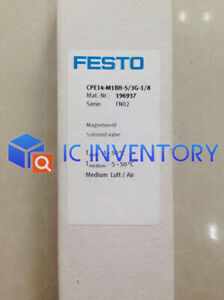 3G-1//8 196937 1pcs New Festo Brand new ones solenoid valve CPE14-M1BH-5
