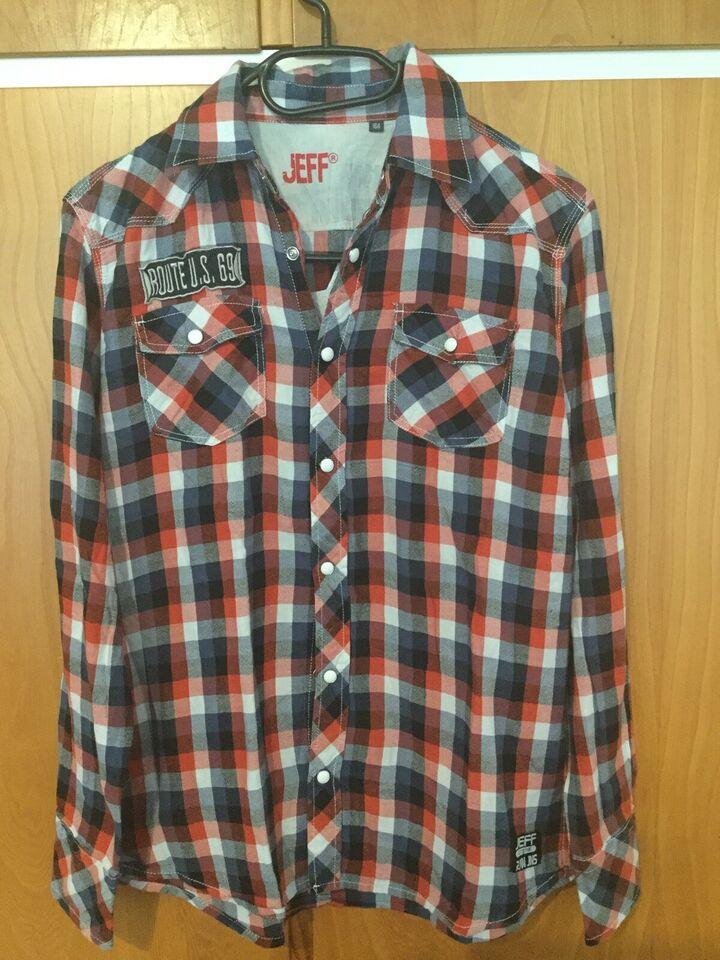 Skjorte, Langærmede skjorte, JEFF