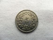 5 CENTESIMI FRANCO Svizzera 1946 Helvetia Numismatica Collezione