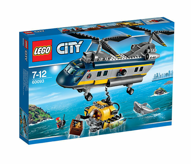 LEGO City 60093 Tiefsee-Helikopter Neu OVP