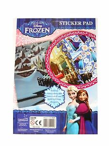 Disney Frozen Colouring Activity Sticker Busy Packs Anna Elsa Ebay