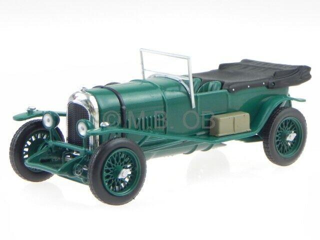 Bentley 3 Litre 1924 grön modellllerl WB171 Vitbok 1 43