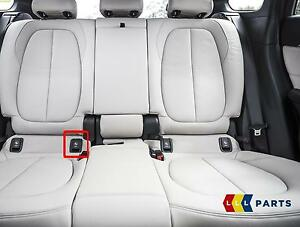 BMW Seat Belt Cover >> BMW NEW GENUINE 2 F45 F46 X1 F48 REAR SEAT BLACK ISOFIX ...