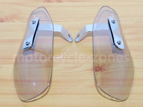 Motorcycle Wind Deflector Hand Guard Protector Shield For Harley Cruiser Custom