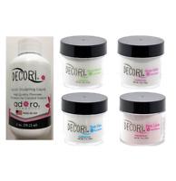 Adoro Decori Liquid Monomer 2oz Compare Mia Secret Acrylic Powders White,clear