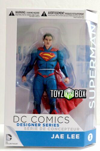 Em estoque Dc Collectibles designers Superman Boneco De Ação Jae Lee