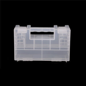 Large Portable Hard Plastic Battery Case Holder Storage Box for AA/AAA TB