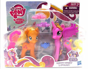 My Little Pony Princess Cadance Applejack Friendship Crystal Empire New Sealed Ebay