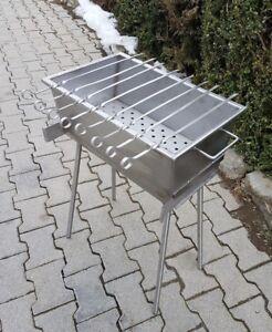 In-acciaio-inox-grill-500mm-lungo-Shashlik-Grill-Mangal-da-2mm-edelstahll