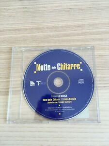 Franco-Battiato-Bandiera-Bianca-034-Notte-delle-Chitarre-034-CD-Single-PROMO-RARO