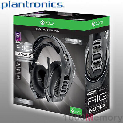 Plantronics Rig 800lx Wireless Gaming Headset Over Ear 2 4ghz Rf For Xbox One Pc Ebay