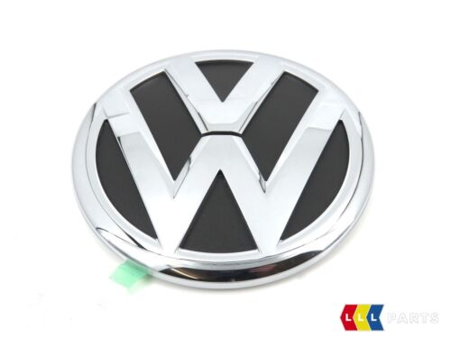 NEW GENUINE VW TOUAREG CHROME VW TRUNK BOOT LID BADGE EMBLEM 7P6853630D FOD