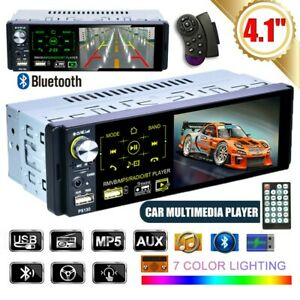 4-1-inch-Car-RadioTouch-Screen-MP5-Player-Stereo-Bluetooth-RDS-FM-USB-Singel-Din