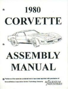 Auto Parts and Vehicles CORVETTE 1980 Owner's Manual 80 Vette Car ...