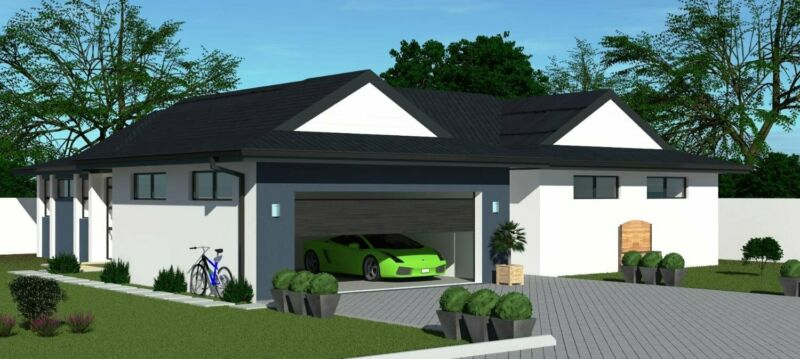3 Bedroom Home in Security Estate - PLOT AND PLAN - DIFFERENT OPTIONS AVAILABLE