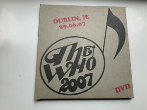The-Who-Live-in-Dublin-2007-Encore-dvd-New-Never-played-Official-release
