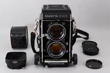 【Exc++++】MAMIYA C330 Pro 6x6 Medium TLR w/ SEKOR DS 105mm F3.5 Hood From Japan
