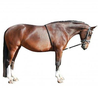 Appena White Horse Equitazione Flusso Di Morbida Lana Confortevole Formazione Aiuto Affondo Corda- Prezzo Basso