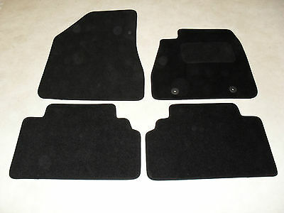 For Lexus IS200 1999-2005 Fully Tailored 4 Piece Rubber Car Mat Set 2 Ring Clips