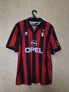 dabd6ab77ee Vintage AC MILAN ITALY 1996/1997 HOME FOOTBALL SHIRT JERSEY MAGLIA ...