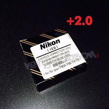 Nikon Diopter-Adjustment +2 Eyepiece Correction Lens for FM3A NewFM2 FA FE2 New