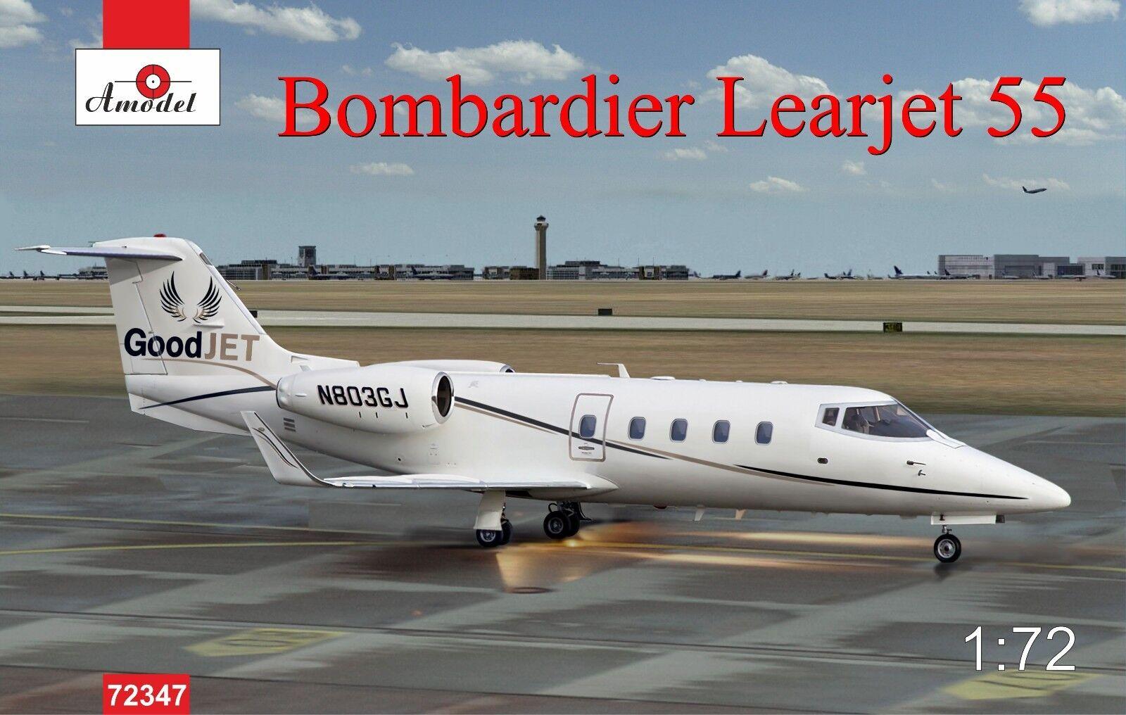 Amodel - 72347 - Bombardier Learjet 55 - 1 72