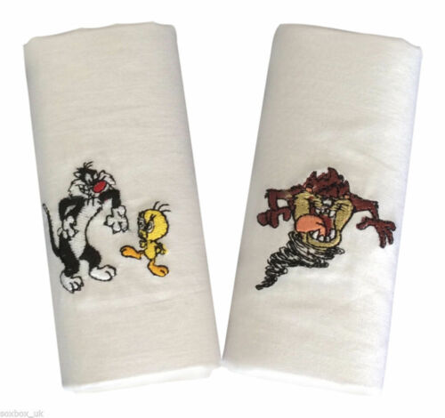 Two Pack Handkerchief Set Various Looney Tunes And Hanna-Barbera Characters