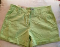 Women's Steve And Barrys Classic Chino Shorts Size 10 Green