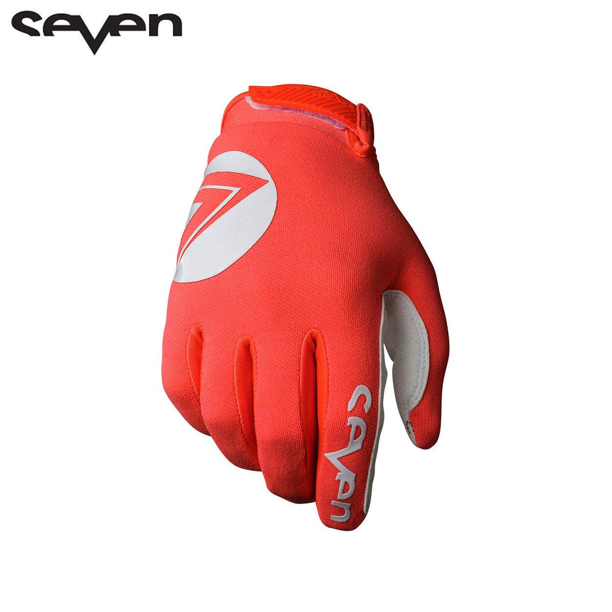 Seven Mx Coral 2019 Annex 7 Dot Gloves