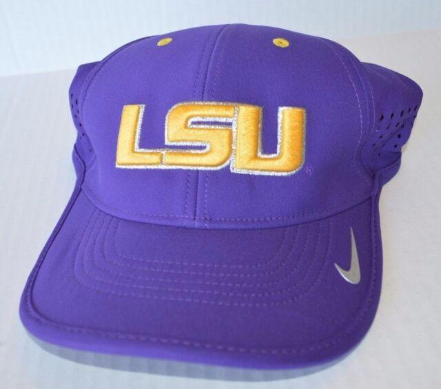 8e157ccd506b90 Nike LSU Tigers Purple Dri Fit Sideline Diamond Dust Coaches ...