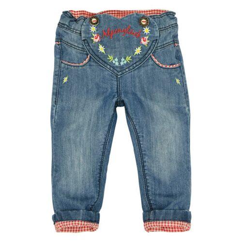 85717 BONDI Trachten Hose Jeans Alpenglück Mädchen Trachtenhose Neu 62-104