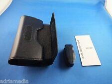 Original Nokia Ledertasche Tasche Case Etui Hülle CP-357 Schwarz Flex Halterung